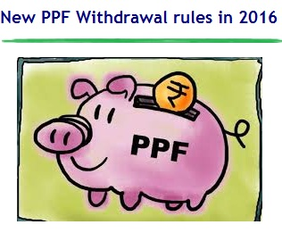 New PPF Withdrawal rules in 2016