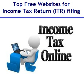 Top Free Websites for Income Tax Return ITR filing online