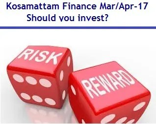 Kosamattam Finance NCD March-April 2017 – should you invest