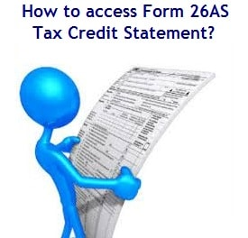 How to access Form 26AS - Tax Credit Statement-min