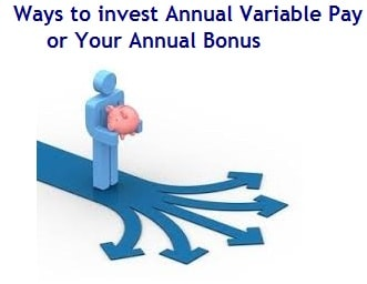 Ways to invest your Annual Variable Pay or Bonus