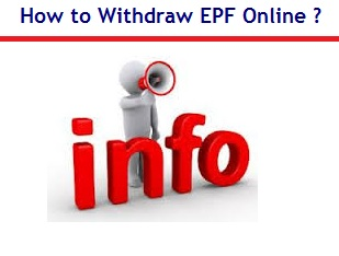 how to withdraw EPF Online in India