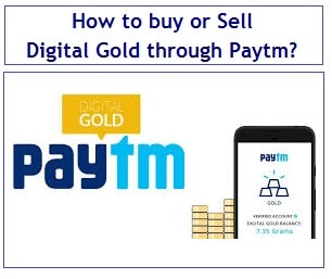 How to buy or Sell Digital Gold through Paytm-min