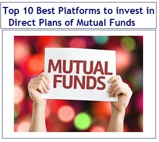 Top 10 Best Platforms to invest in Direct Plans of Mutual Funds