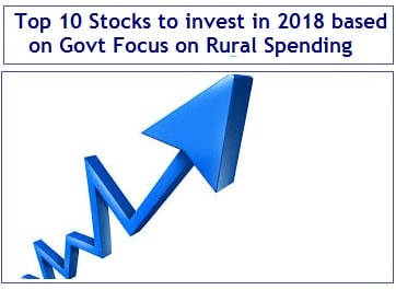 Top 10 Stocks to invest in 2018 based on Govt Focus on Rural Spending-min