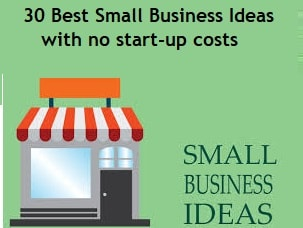 Best Small Business Ideas with no start-up costs-min