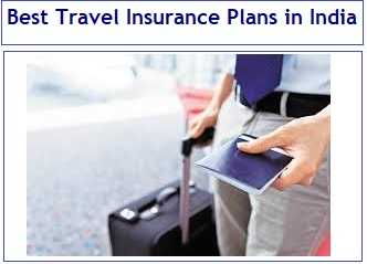 Best Travel insurance plans in India
