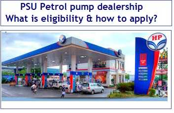PSU Petrol pump dealership – What is the eligibility and how to apply