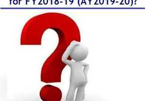 Income Tax Slabs and Rates - Financial year 2018-19 and Assessment Year 2019-2020