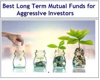Best Long Term Mutual Funds for Aggressive Investors