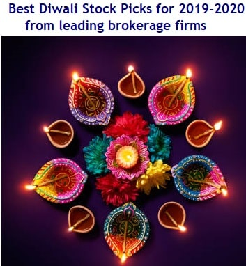 Best Diwali Stock Picks for 2019-2020 from brokerage firms