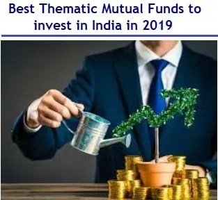 Best Thematic Mutual Funds to invest in India in 2019