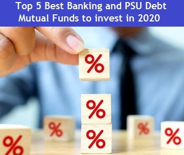 top 5 Best Banking and PSU Debt Funds