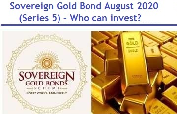 Sovereign Gold Bond August 2020 (Series 5) - Review