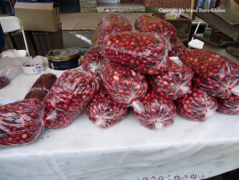 Fresh PEI Cranberries Charlottetown, PEI