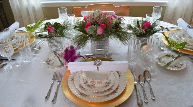 Christmas Eve Tablesetting and Dinner