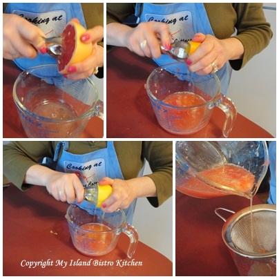 Rhubarb Cordial - My Island Bistro Kitchen