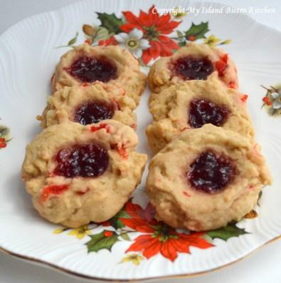 Brown Sugar Jam-Filled Cookies