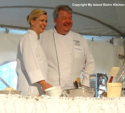 Chefs Anna and Michael Olson