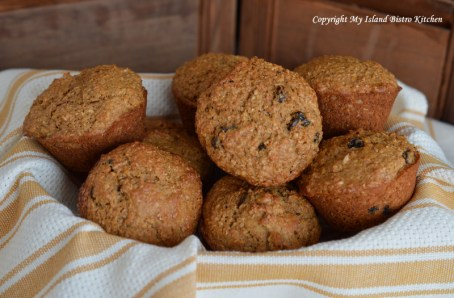 Basket of Bran Muffins