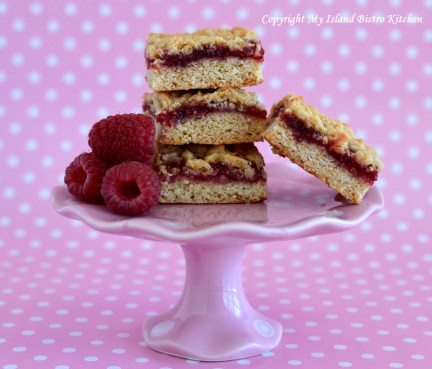 My Island Bistro Kitchen's Old-fashioned Jam Squares