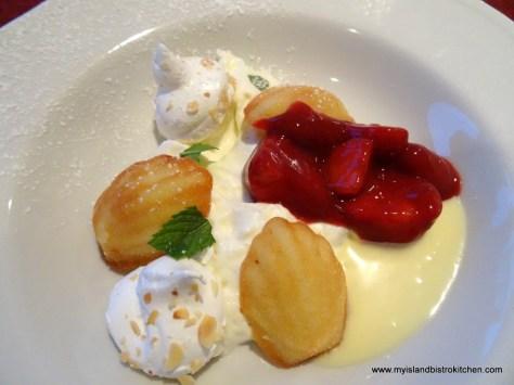Course #5: Strawberry Shortcake