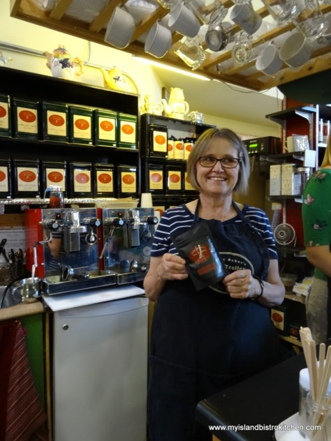 Lady Baker's Tea Trolley Tea Bar at the Charlottetown Farmers Market