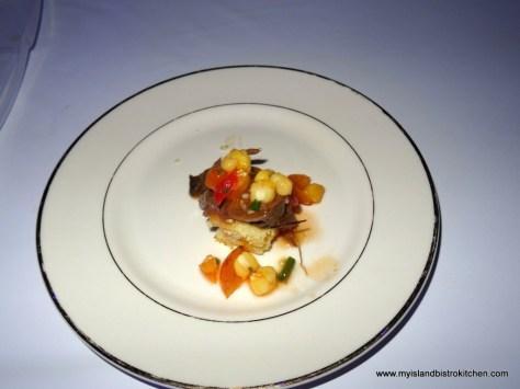 """""""Buttermilk Chicken Fried Steak with Tomato & Corn Salsa"""" from Anson's Restaurant & Bar"""