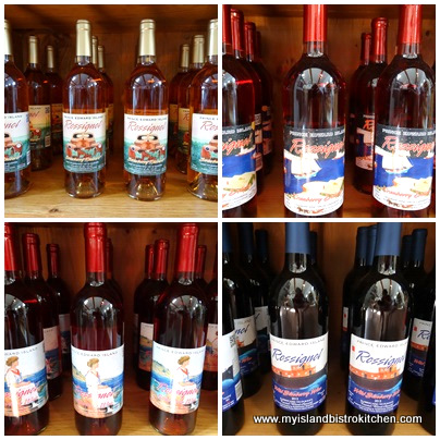Fruit Wines Produced by Rossignol Winery, Little Sands, PEI