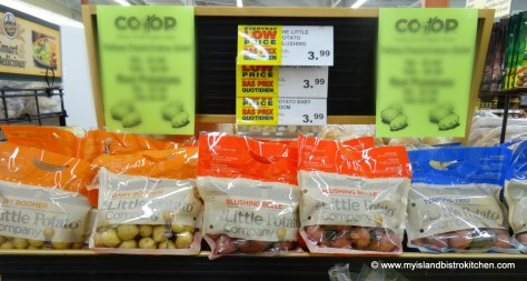 The Little Potato Company varieties of potatoes available at the Co-op Food Market on Walker Avenue in Charlottetown, PEI