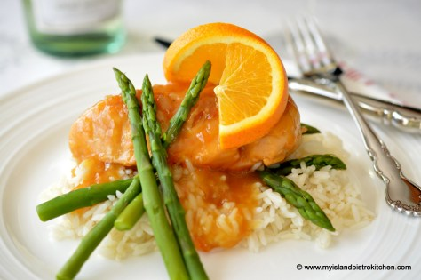 Maple-Orange Sauced Chicken