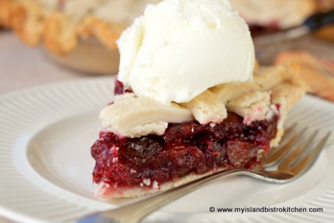 Mock Cherry Pie