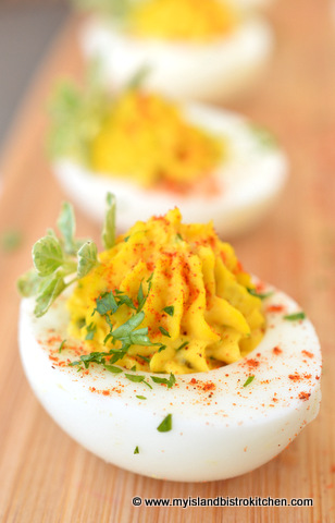 The Bistro's Best Devilled Eggs