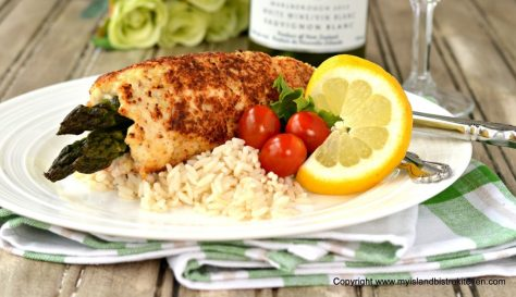 Asparagus-stuffed Chicken Breasts by My Island Bistro Kitchen