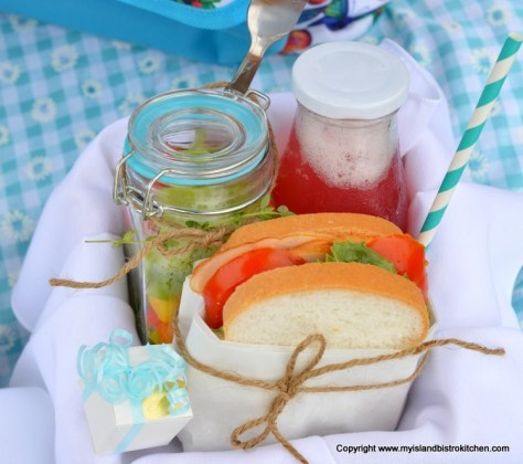 Sandwich Basket