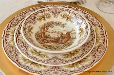 Fall Dinnerware