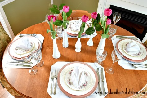 Springtime Tablesetting