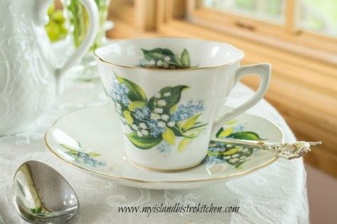 Valley China Cup and Saucer