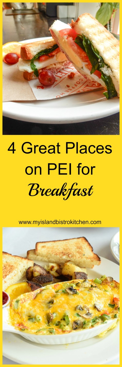 Four Great Places on PEI for Breakfast