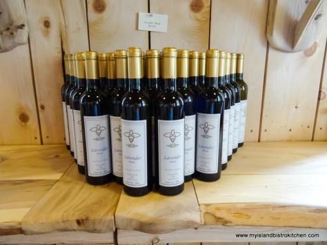 Lavender Honey Mead from the Island Honey Wine Company, Wheatley River, PEI, Canada