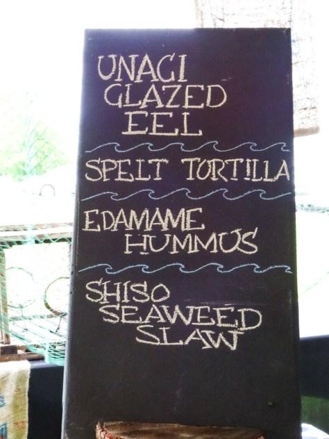 Eel Tacos