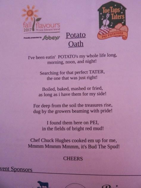 Potato Oath