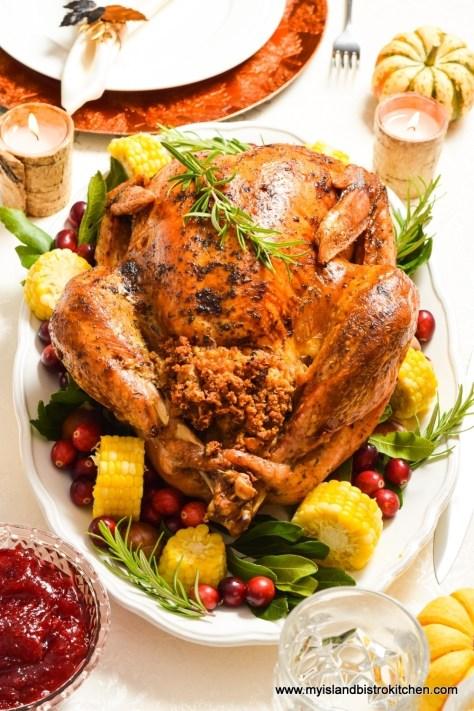 Herb-Basted Roast Turkey
