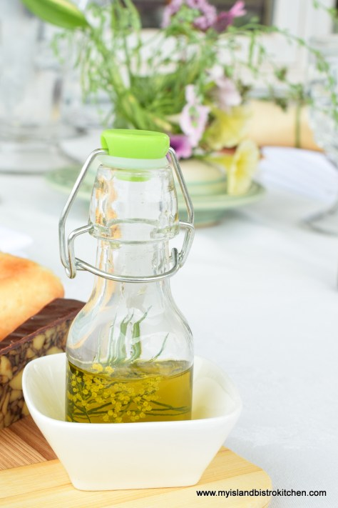 Dill-infused Olive Oil