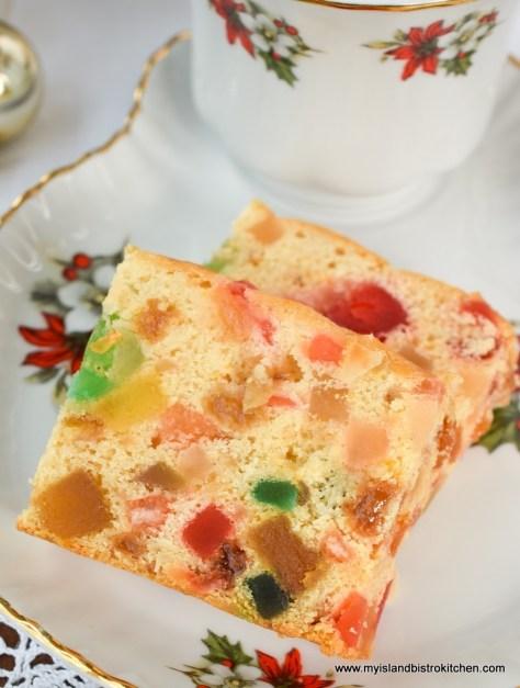 Gluten Free Light Fruitcake