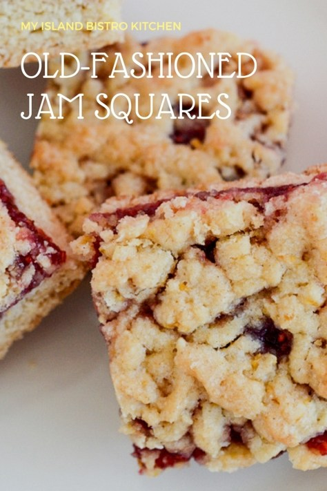 Jam Squares