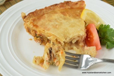 Premier Wade MacLauchlan's Seafood Pie