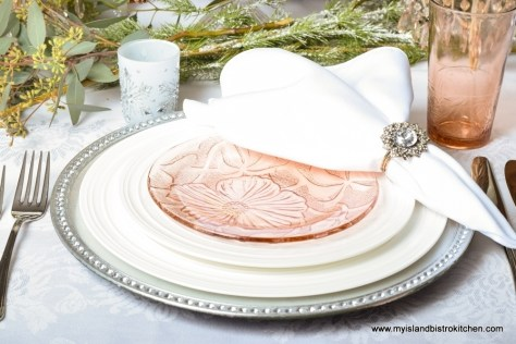 Pink Blush Placesetting