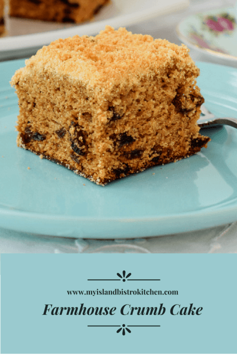 Farmhouse Crumb Cake