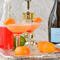 Island Summer Blush Cocktail